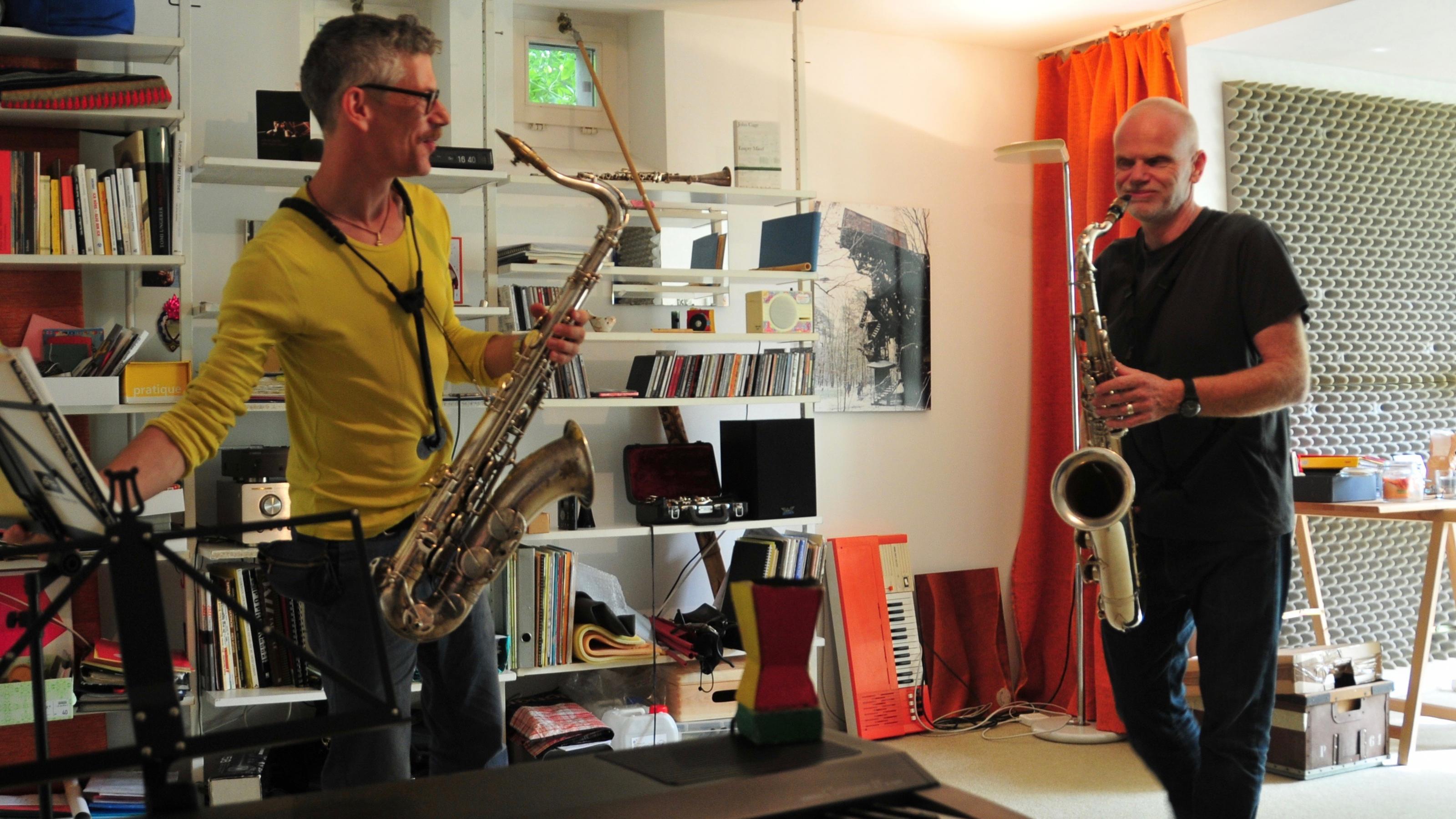 Saxophon lernen mit Spass / Foto Maximilian Jaeger