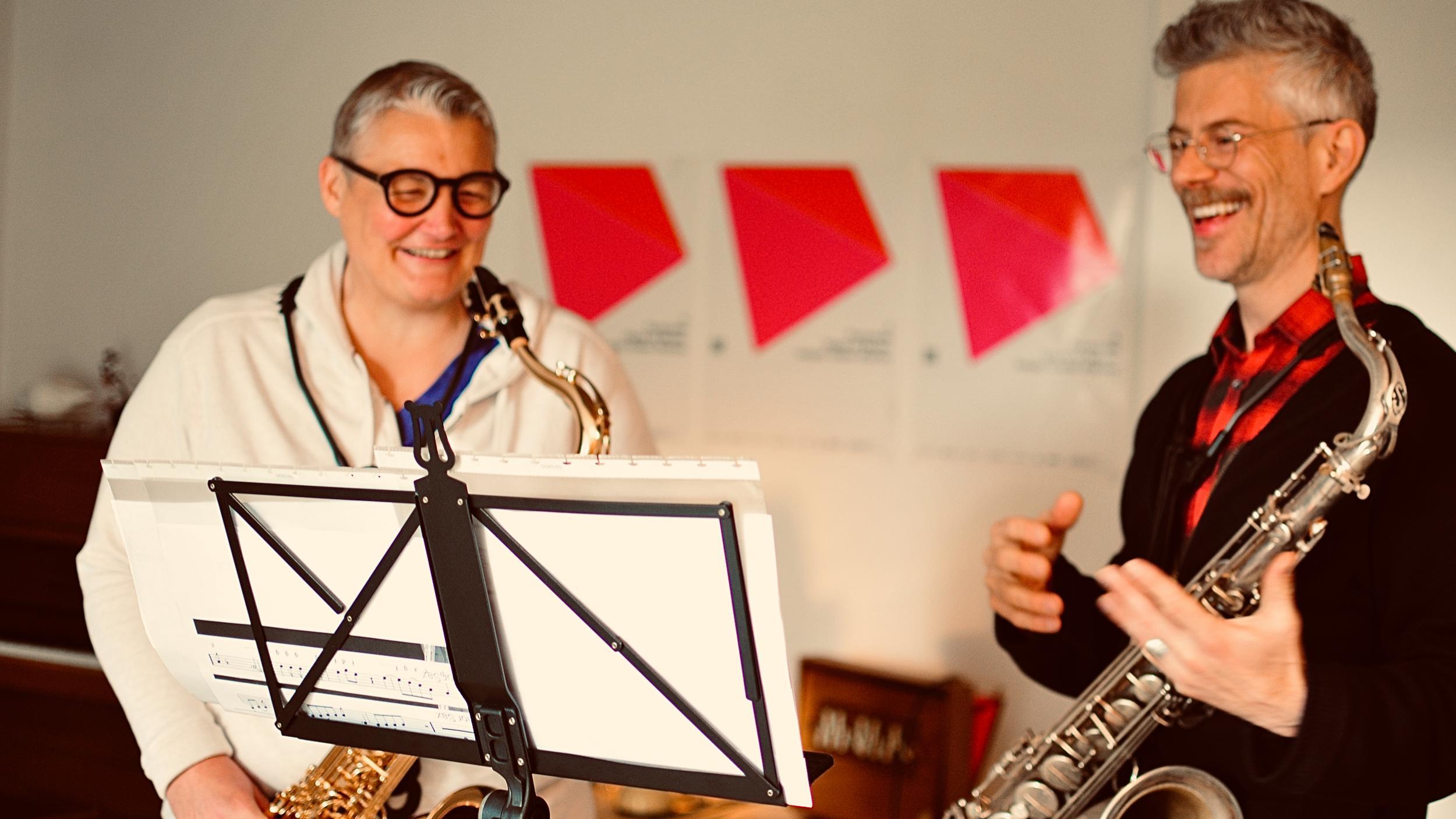 Saxophonunterricht für Erwachsenen in Zürich: Lerne Sax spielen wie es Dir gefällt!