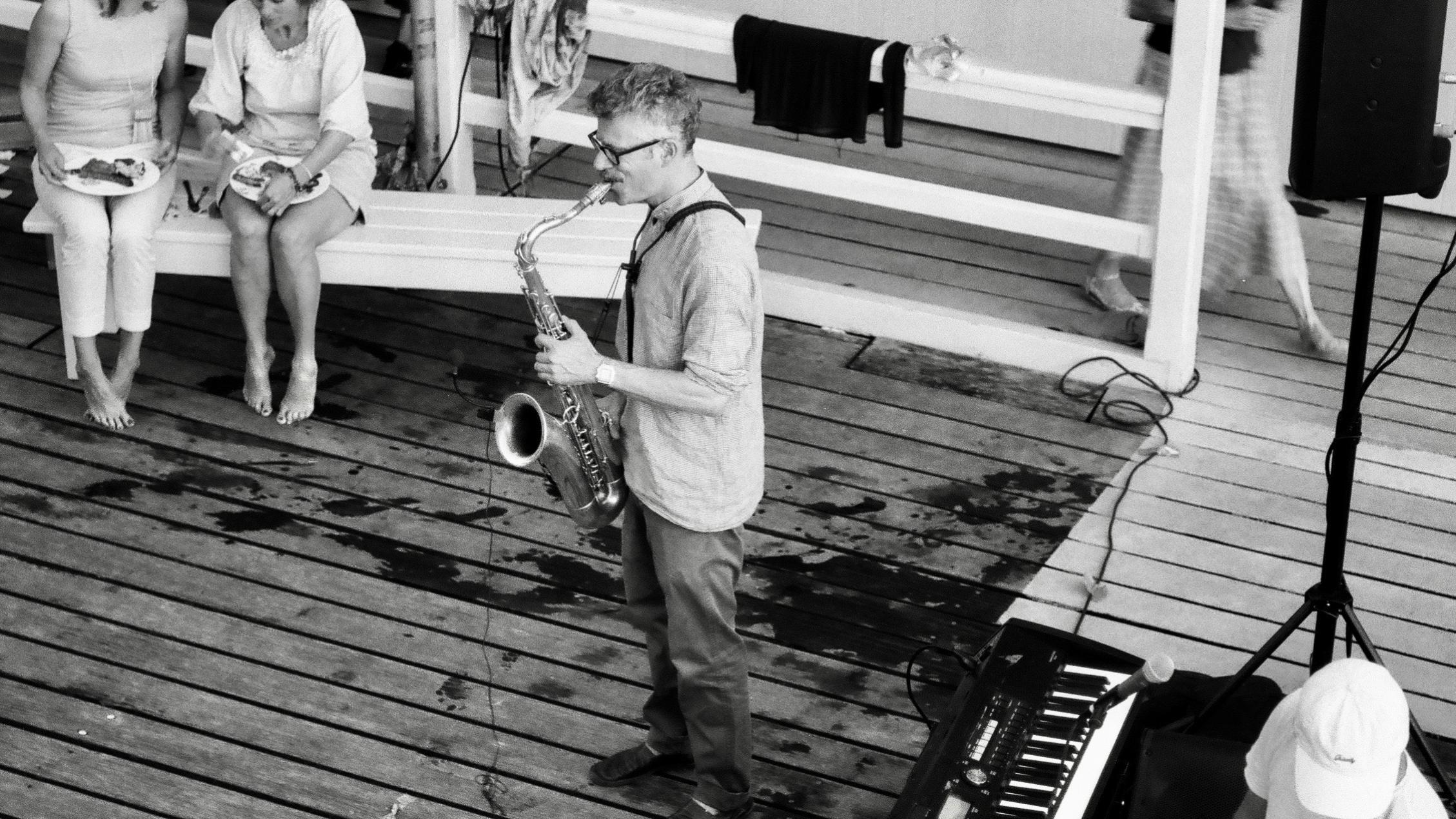 Saxophon Blues und Funk / Foto Brigitt Kubli