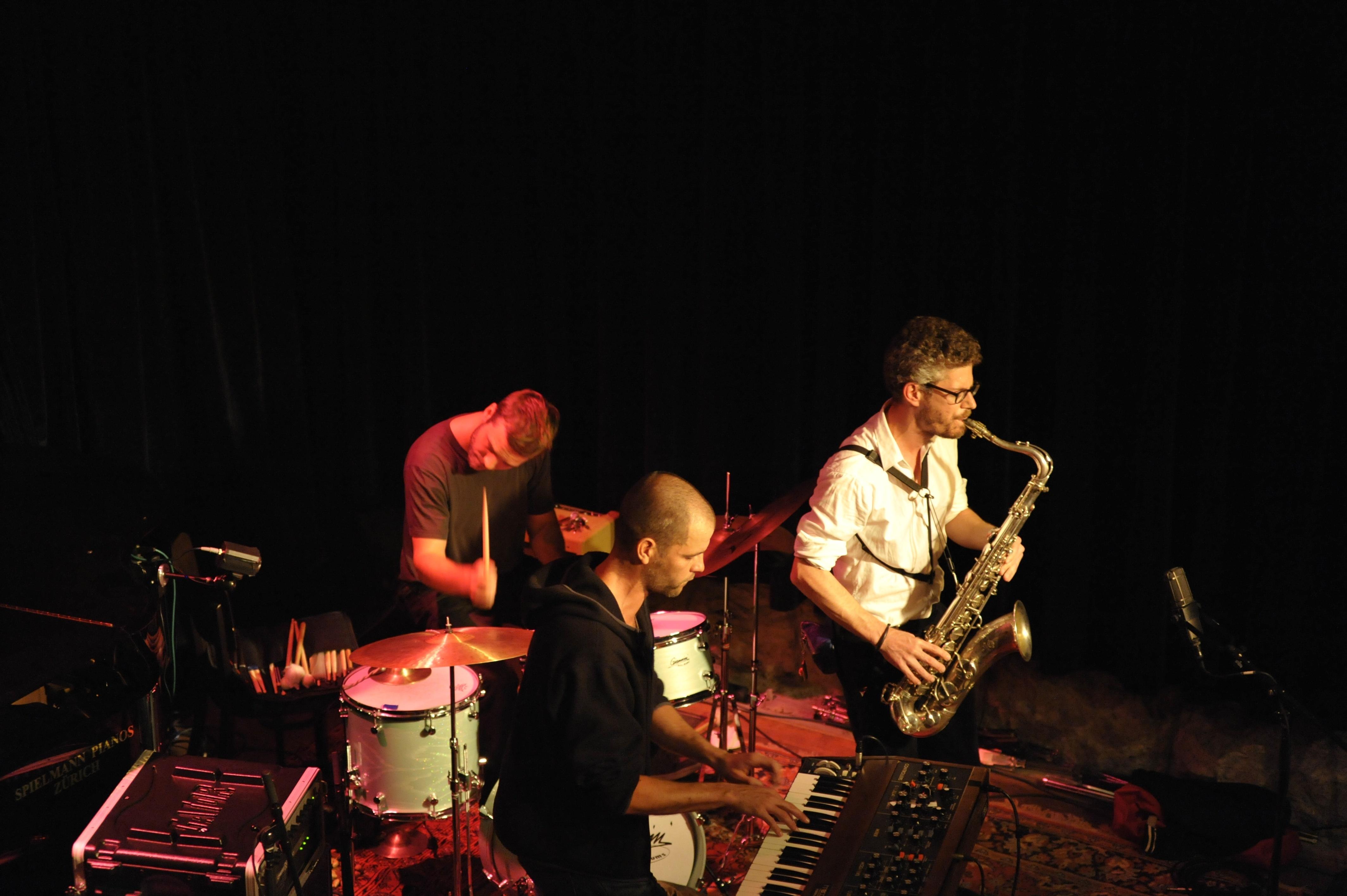 Saxophon spielen / Foto Palma Fiacco